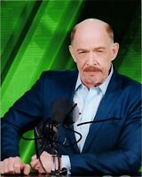 """JK SIMMONS Authentic Hand-Signed """"J.Jonah ~ Spider-Man:Far from Home"""" 8x10 Photo"""