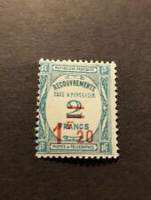 TIMBRE FRANCE TIMBRE TAXE N°64 NEUF * MH  1929 COTE 50€
