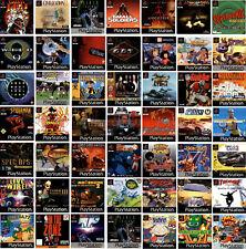 Sony PlayStation 1 | PS1 | beliebte Spiele | USK 0-18 | große Auswahl |
