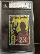 85 Prism Jewel Michael Jordan BGS 7 Double stamped! 1 Of 1! This Is the Rarest