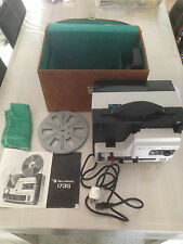 PROJECTEUR SONORE SUPER 8 MM BELL & HOWELL 1735 FILMSONIC VALISE ENCEINTE 18/24