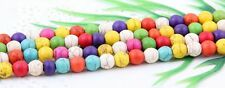 Wholesale 150/300Pcs Round Mixed Turquoise Spacer Beads Findings 8mm