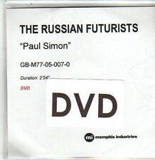 (DA775) The Russian Futurists, Paul Simon - DJ DVD