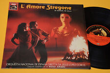 MANUEL DE FALLA LP L'AMORE STREGONE COLONNA SONORA ORIG ITALY 1986 EX