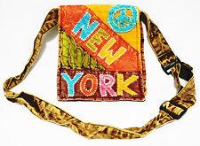 Hippie HOBO nepali Handmade Tie Dye  Patchwork CrossBody Sling Bag Razor Ripped