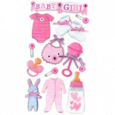 Jolee's Boutique Stickers- BABY GIRL (LARGE 13PC) -#245