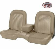1968 Ford Mustang Front Bench Seat Upholstery Parchment Made by TMI