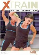 CATHE FRIEDRICH XTRAIN SERIES ALL OUT LOW IMPACT HIIT DVD EXERCISE WORKOUT