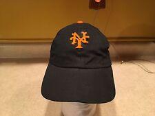 Vintage Black New York Giants Baseball Hat Leather Band