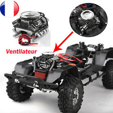 540 550 560 RC EP Moteur électrique Dissipateur de chaleur avec 6 V Ventilateur silver échelle 1//10 côté