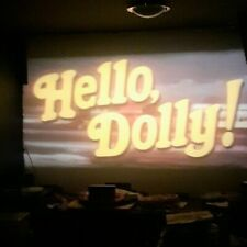 HELLO DOLLY 1x1200ft and 1000ft super 8 cinemascope stereo DERANN print
