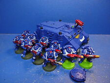 Rhino + 10 táctico de los marines Space Marines
