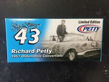 Petty Enterprise Richard Petty #43 1957 Oldsmobile Converible LE Autographed