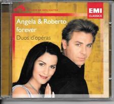 CD ALBUM 21 TITRES--ANGELA & ROBERTO ALAGNA--FOREVER - DUOS D'OPERAS