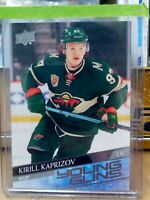 KIRILL KAPRIZOV 2020-21 UPPER DECK 2 YOUNG GUNS ROOKIE RC #451 MINNESOTA WILD