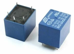 High Quality Popular 24V DC 10 Amp Relay Songle SRD-24VDC-SL-V  PCB 10A