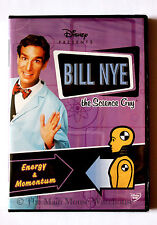 Disney Bill Nye The Science Guy Kinetic Energy Speed Momentum Educational DVD