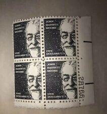 Scott #1295- 1966 John Bassett Moore 5 dollar U.S. Stamps