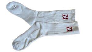 Nike Air Jordan AJ 6 VI Heritage Legacy Socks carmine Cream/Red 23