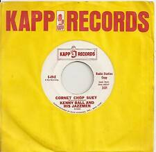 KENNY BALL 45 CORNET CHOP SUEY B/W THE PAY OFF VG+ KAPP 494X JAZZ PROMO