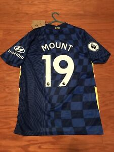 New 2021/2022 Mason Mount Chelsea jersey home size large