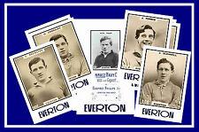 EVERTON - RETRO 1920's STYLE - NEW COLLECTORS POSTCARD SET