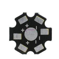 3 x 5w 390nm uv power LED on w dissipateur de chaleur BILLET MONEY Noir lumière