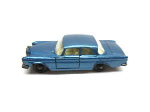 MATCHBOX LESNEY #46 BLUE MERCEDES 300 SE
