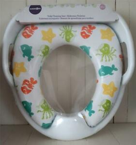 BabiesRus Toilet Potty Training Seat with Handles and Padded Seat 18 Months +