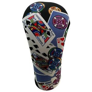 Casino Themed Golf Club Head Covers American Made