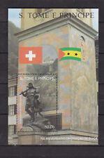 Sao Tome and Principe : 700 th. Anniversary Swiss Confederation  1990 MNH