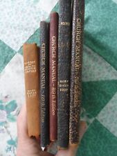 Lot 0f 5  Mary Baker Eddy Early 20th Century Christ Science Manuals And Books