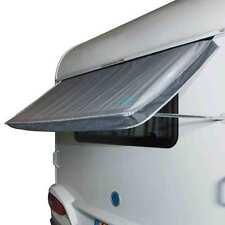 Wohnwagen Fenstermarkise, 180x75cm, 2000mm Wassersäule, Stahl verzinkt, Keder