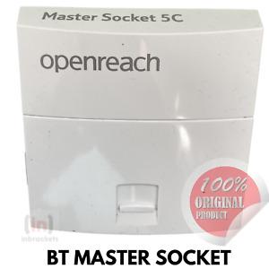 BT OPENREACH MASTER SOCKET NTE5C MK2  REPLACEMENT TELEPHONE SOCKET TOOLESS - uk