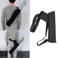 Portable Quiver Arrow Bow Bag Hunting Bag Cloth Zipper Pouch Hunting Accessories