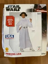 Rubie's Star Wars Princess Leia Child Costume L(12-14) Made In The USA BRAND NEW