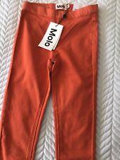 MOLO designer girls April orange jeggings, Leggings, brand new, age 7-8 years