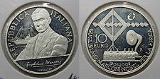 ITALIA 2009 GUGLIELMO MARCONI 10 EUROS MONEDA PLATA PROOF