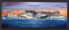 Gibraltar Mnh 2008 cruceros Minipliego