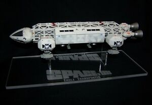 "acrylic display stand for 12"" diecast & model Space 1999 Eagle Transporter"