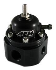 AEM Universal Ajustable Regulador de presión de combustible, 25-302BK