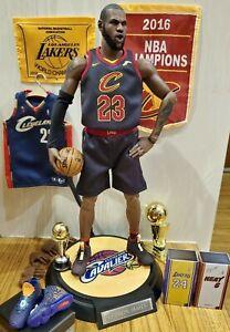 Enterbay 1/6 Lebron James Cleveland Cavaliers Black
