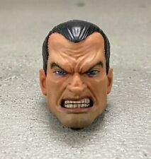 CQ-PNH-MEZ-R: 1/12 scale Painted Punisher Head for Mezco one:12 or ML Punisher