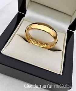 Men's Solid 24k Gold Ring 999 - Superior London Craftsmanship - Made-to-Order