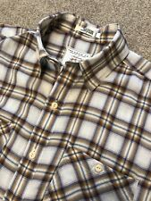 GORGEOUS ORVIS THIN COTTON COUNTRY CHECK LONG SLEEVE SHIRT L LARGE