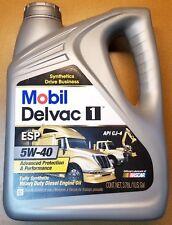 MOBIL DELVAC 1 ESP 5W40 FULL SYNTHETIC HEAVY DUTY DIESEL ENGINE OIL 1-GALLON CJ4