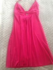 Pink Mini Halter Dress with cut out detail Size Small