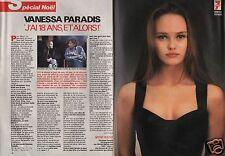 Coupure de presse Clipping 1990 Vanessa Paradis  (4 pages)