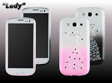 Phone Case for Samsung Galaxy Smartphone Motif Lady Silicone Case Protective Cover