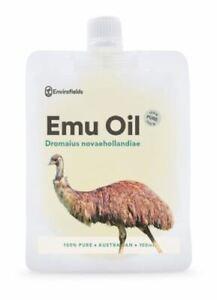 AUSTRALIAN EMU OIL 100ml   100% PURE   Natural moisturiser   FREE AU SHIPPING